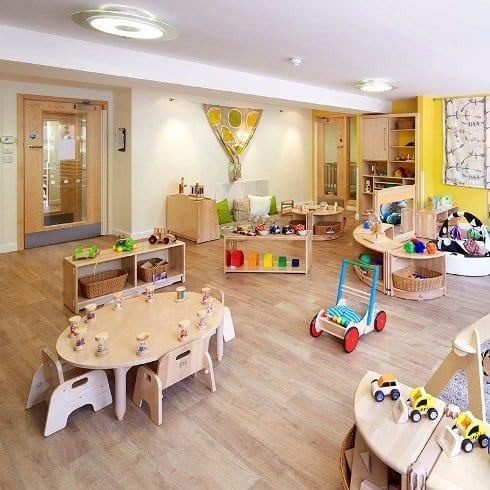 Bright horizons play area at Women's Refuge