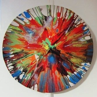 spin painting example