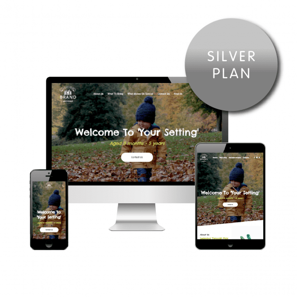 Childminder Silver Website Plan